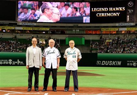 王に野村、門田と本塁打の歴代トップ3が勢ぞろい(2)