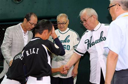 王に野村、門田と本塁打の歴代トップ3が勢ぞろい(5)