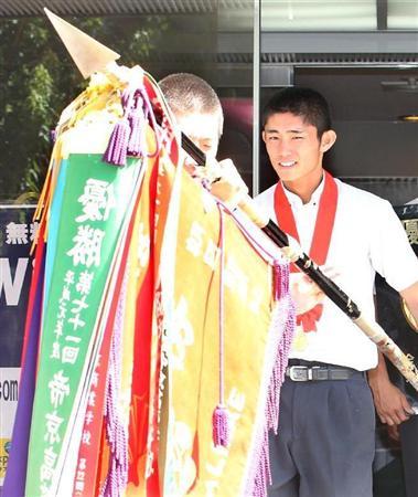 作新学院・今井、高校日本代表で「ビッグ3」を質問攻めだ!