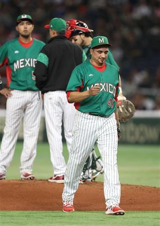 メキシコ、日本を圧倒 9投手で逃げ切り&打っても10安打(画像6 ...