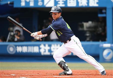 ヤクルト・雄平、プロ野球記録タイの4二塁打! - SANSPO.COM(サンスポ)