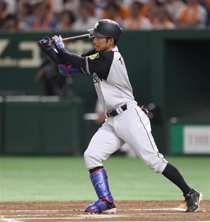 阪神・鳥谷、2000安打到達者・藤...