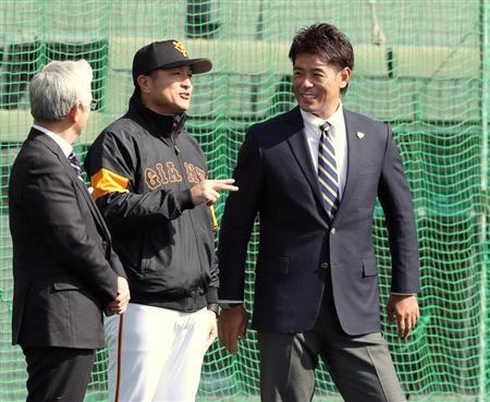 巨人・高橋監督、侍J・稲葉監督へ若手を売り込み 話題に上った吉川尚「まずは結果を」