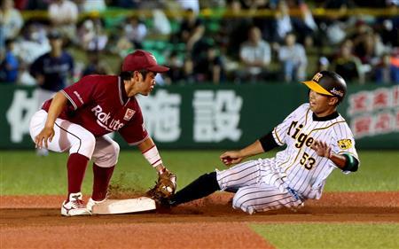 【球界ここだけの話(1394)】阪神D4・島田、赤星氏を追いかけスピードスターを目指す