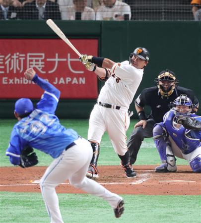 巨人・阿部、引退試合で通算406号!東京ドームにでっかい置き土産 ...