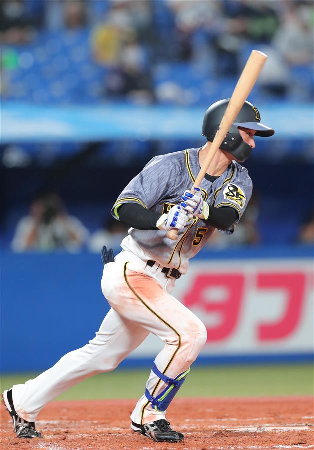 阪神・近本、今季2番初安打!陽川がプロ2度目の1番阪神・近本、今季2番初安打!陽川がプロ2度目の1番