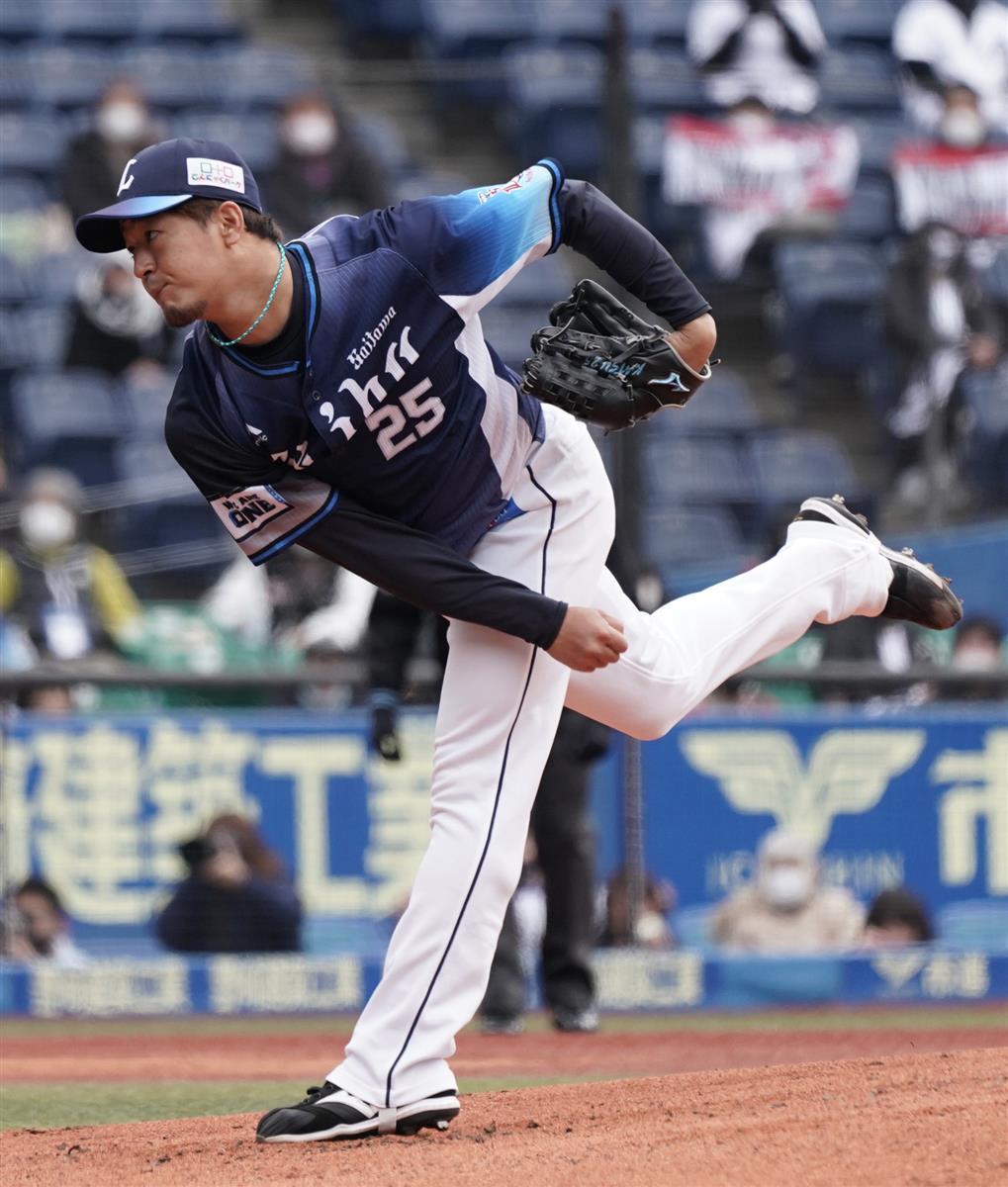 西武・平井は4回0封 今季から先発転向 - SANSPO.COM(サンスポ)
