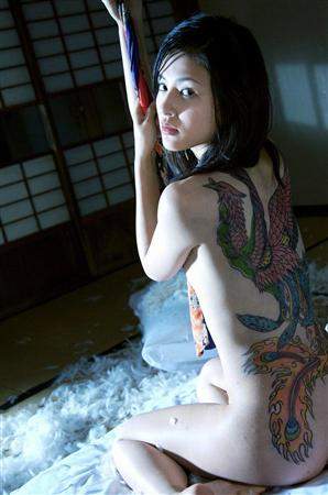 井村空美 刺青 ヌード 画像