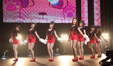T-ARA、日本デビュー曲でねこダンス!(4)