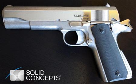 ここまで来た!「3Dプリンター」で銃複製、実弾発砲も可能(1)