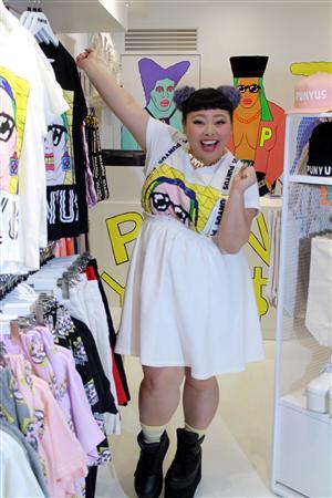 渡辺直美、洋服ブランド1号店オープン(1