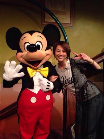 ミッキーと米倉涼子