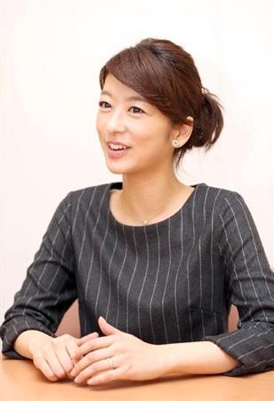 インタビューに答える生野陽子。
