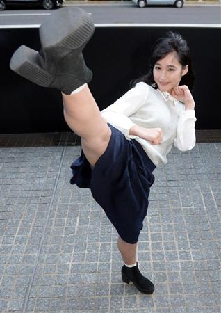 バレエで培った体の岡田サリオ