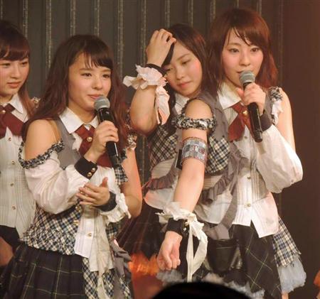 NMB山田菜々、涙の卒業公演「私には笑神様がついてる」 - SANSPO ...