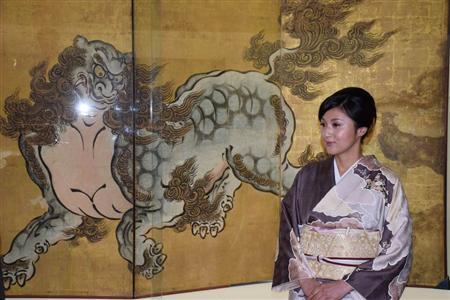 藤原紀香、京都を伝える文化大使に就任「素晴らしさ... 京都国立博物館の文化大使に就任し、狩野山