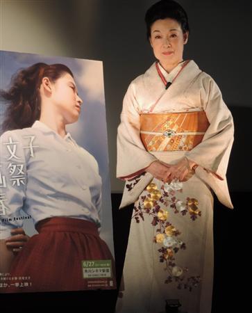 若尾文子、新作への出演は「老婆役で出演したら幻滅... 若尾文子、新作への出演は「老婆役で出演し