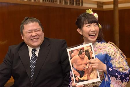 小泉エリ、元土佐豊はマンゴー型 前代未聞の「乳輪占い」結婚会見(2)