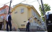 生活音トラブルをめぐり、2階の住人を1階の住人が射殺する事件が起きた東京・東葛西のアパート (撮影・早坂洋祐)