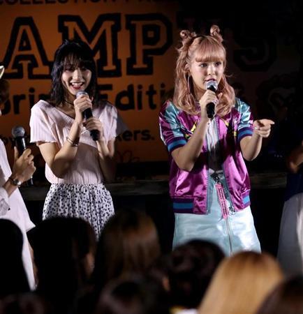 武田玲奈、にこるんとファッションショーで18歳キュート競演(3