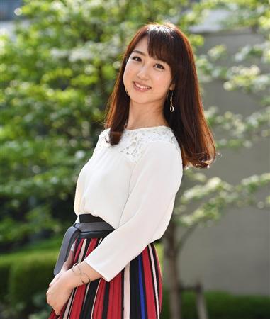 髪がさらさらの川田裕美