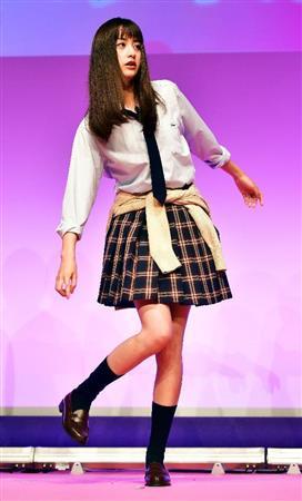 【映画】山本美月「スカートがスースーする」 1年ぶりの制服姿に照れ笑い