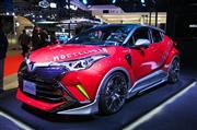 【東京オートサロン2018】モデリスタは人気のSUVトヨタC-HRを近未来スタイリングに変身!