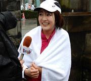 東京マラソン完走直後に   -