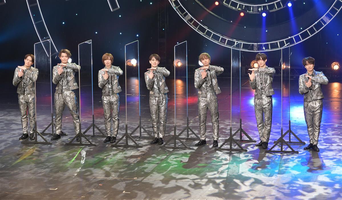 初日公演の前に会見でTravis Japanのポー…|トラジャのぶっ飛び舞台、新橋演… 写真1/3|SANSPO.COM(サンスポ)