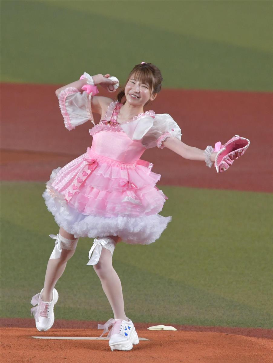 ZOZOマリンスタジアム 岩下 始球式 田村亮介 あずきに関連した画像-04