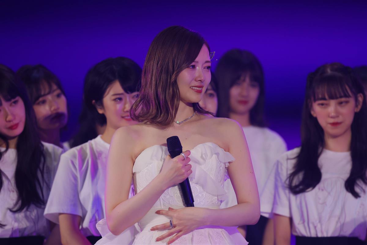 ライブ 白石 麻衣 卒業