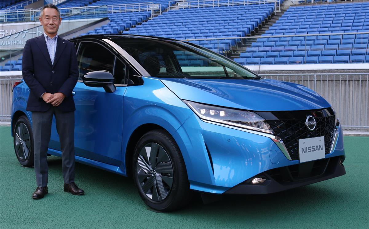 日産自動車の新型「ノート」|日産、新型コンパクトカー「ノー… 写真1/1|SANSPO.COM(サンスポ)