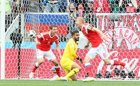 試合結果】ロシア、5ゴールでサ...