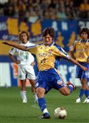 FKで先制ゴールを決める岩本(2003年)