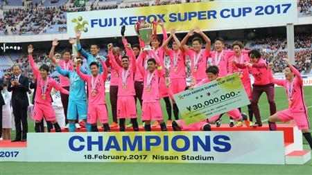 2019年スーパーカップの冠スポンサーは26年連続「富士ゼロックス」に決定