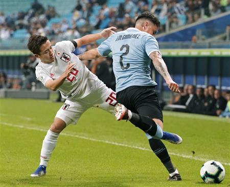 【試合結果】サッカー日本代表、ウルグアイ相手に勝ち点1死守!三好2得点、久保途中出場 南米選手権