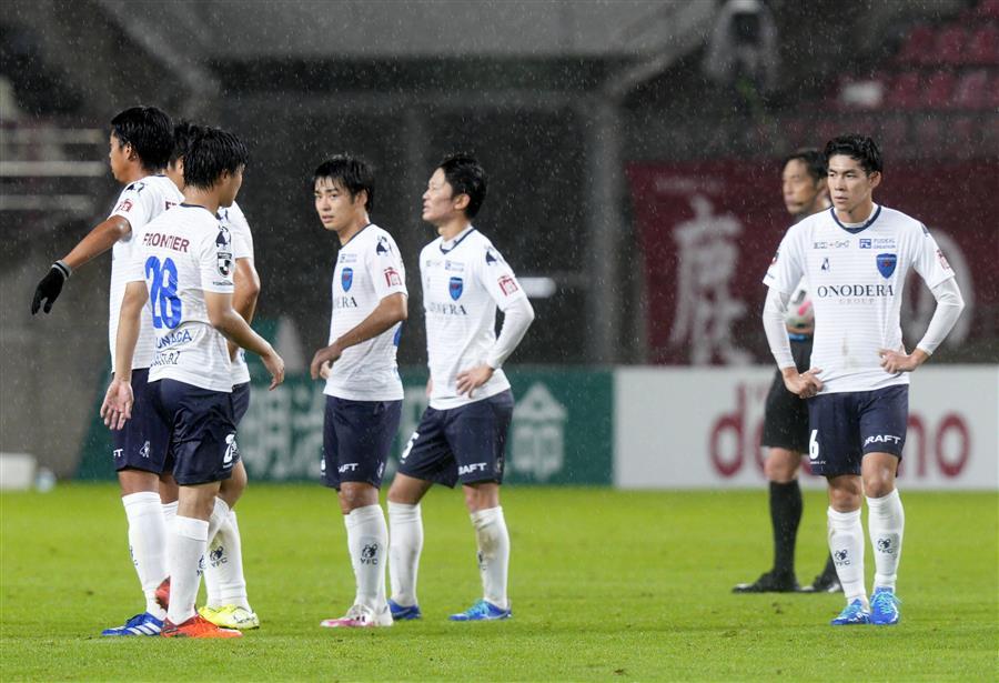 横浜FC・下平監督、後半に3失点「悔しい敗戦」横浜FC・下平監督、後半に3失点「悔しい敗戦」