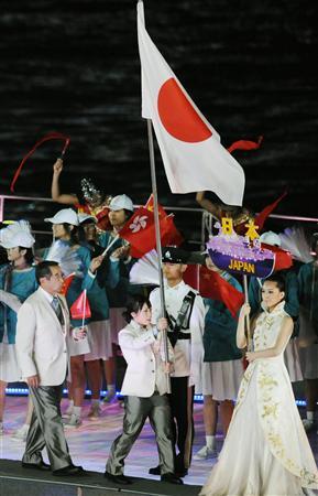 東アジア大会開幕!趣向こらした水上式典(3)