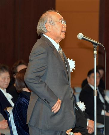 河西昌枝さんをしのぶ会、小泉元首相ら約500人参列/バレー(2)