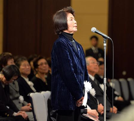 河西昌枝さんをしのぶ会、小泉元首相ら約500人参列/バレー(5)