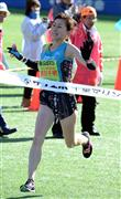 森川さん、10キロ女子優勝も…タイム満足せず/マラソン