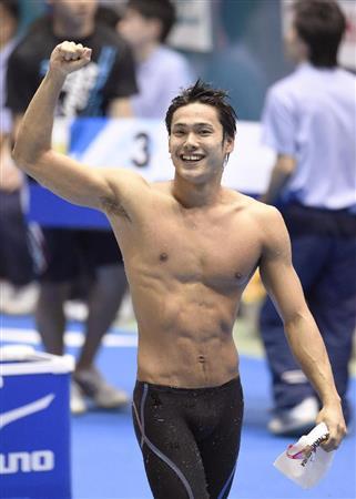 中村が宣言通り100自で日本新!「ずっと狙っていた記録」/競泳(1)