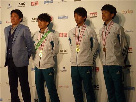"""チームジャパン""""でマラソン再生..."""