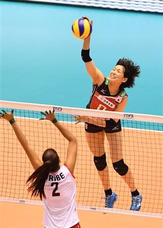 火の鳥日本快勝!ペルーをストレートで圧倒/バレー... 火の鳥日本快勝!ペルーをストレートで圧倒