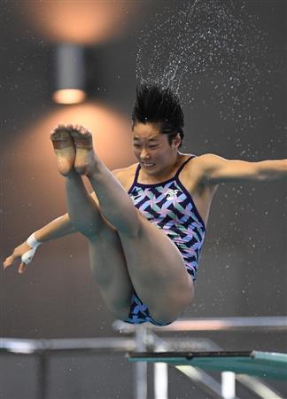 リオ代表の16歳、板橋が女子3メートル板優勝/飛び込み(2)