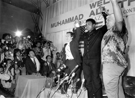 元世界王者ムハマド・アリ氏が死去 74歳 76年には猪木と異種格闘技戦(5)