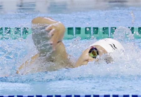 内田が4年連続2冠の快挙!「今できる100パーセントの力は出せた」/競泳