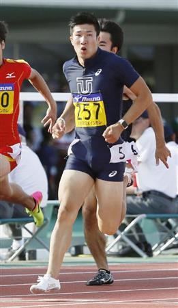 桐生祥秀が100メートルで日本人...