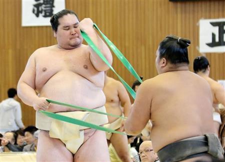 関脇転落決定の照ノ富士が秋巡業合流「あんまり気にしていない」(1)