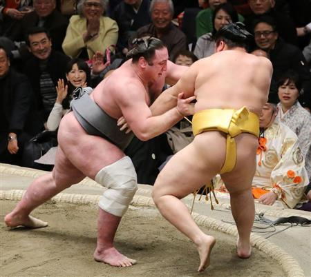 遠藤、栃ノ心に敗れ新三役厳しく「何も言えることはない」/初場所